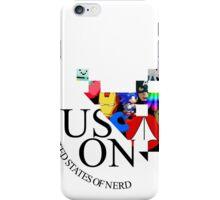 Nerd logo iPhone Case/Skin