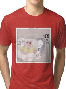 Dinosaurs + Mama Tri-blend T-Shirt