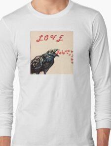 Love Crow Long Sleeve T-Shirt