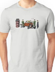 A long time ago in 1943 (far far away....in france) Unisex T-Shirt