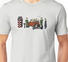 A long time ago in 1943 (far far away....in france) Unisex T-Shirt