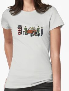 A long time ago in 1943 (far far away....in france) Womens Fitted T-Shirt