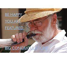 Big congratulation Photographic Print