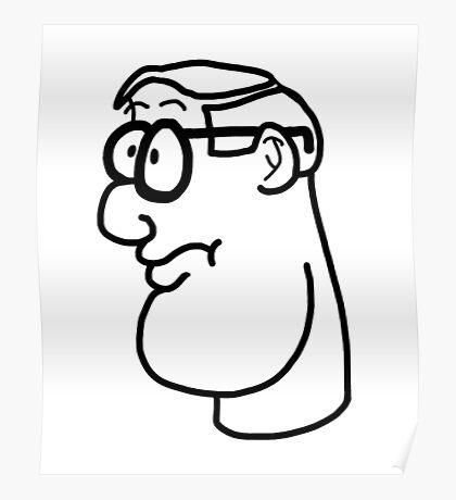 Cartoon Genius Poster