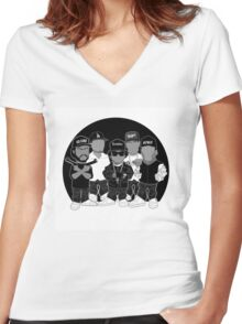 N.W.A Women's Fitted V-Neck T-Shirt