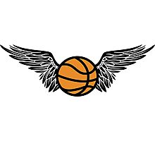 basketball : winged Photographic Print