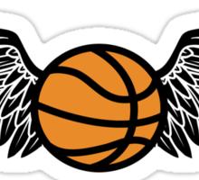 basketball : winged Sticker