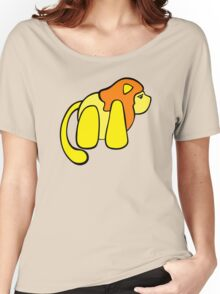 One small lion against the big, scary world Women's Relaxed Fit T-Shirt