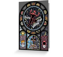 Justice Is Blind Greeting Card