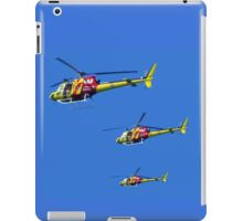 Helicopter Trio iPad Case/Skin