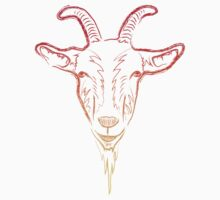 goat sketch Kids Clothes