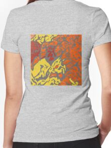 Unknown Medicine Women's Fitted V-Neck T-Shirt
