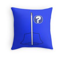Mike's Mystery Tracksuit Throw Pillow