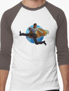 Lando Calrissian Men's Baseball ¾ T-Shirt