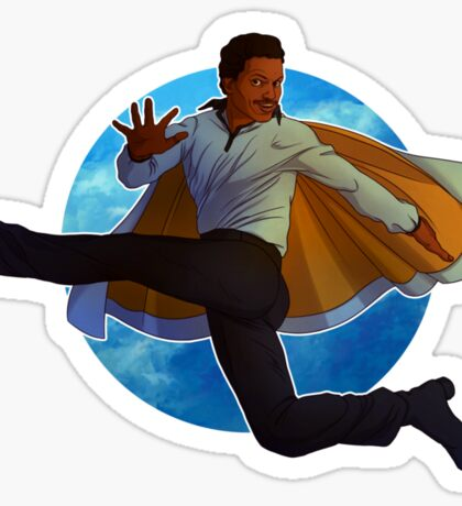 Lando Calrissian Sticker