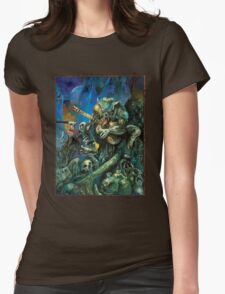 Apocalypse Cover Art: Rage Across Appalachia Womens Fitted T-Shirt