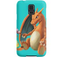 Charizard - Marshmallow Samsung Galaxy Case/Skin