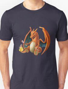 Charizard - Marshmallow T-Shirt