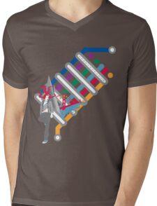 SF SCENE Mens V-Neck T-Shirt