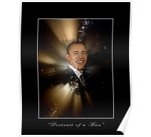 """Portrait of a Man"" Barack Obama Poster and Prints Poster"