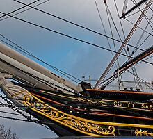 Cutty Sark, Greenwich, London, England by atomov