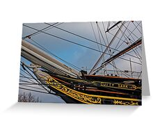 Cutty Sark, Greenwich, London, England Greeting Card