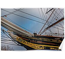 Cutty Sark, Greenwich, London, England Poster