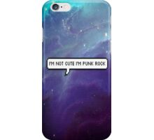 Punk Rock Galaxy iPhone Case/Skin