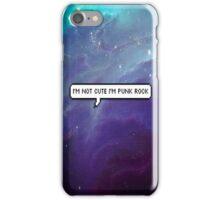 Punk Rock Galaxy iPhone Case/Skin