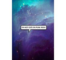 Punk Rock Galaxy Photographic Print
