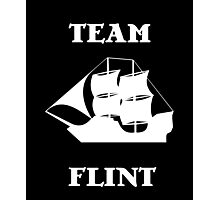 Team Flint with Ship Photographic Print