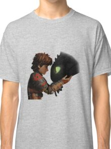 Hiccup & Toothless - Dragon Trainer Classic T-Shirt