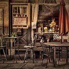 Sidewalk Cafe by Lois  Bryan