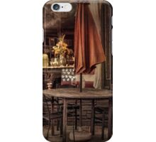 Sidewalk Cafe iPhone Case/Skin