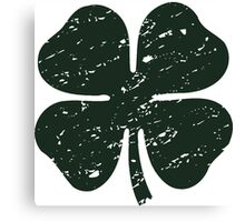 shamrock Canvas Print