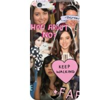 Aubrey Plaza Collage iPhone Case/Skin