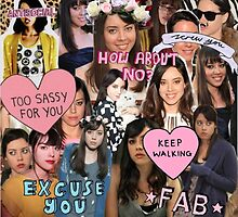 Aubrey Plaza Collage by Emmycap