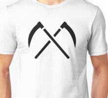 Crossed scythe Unisex T-Shirt