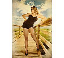 Vintage Beauty Photographic Print