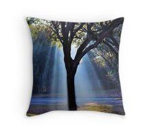 The Tree Of Light Throw Pillow