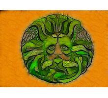 The Spirit of Green Man Photographic Print