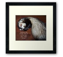 Another Birthday? Framed Print