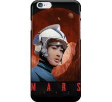Mars One Retro Sci-Fi Astronaut iPhone Case/Skin
