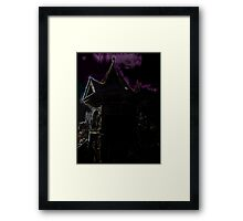 The Guest (Ghost) House Framed Print