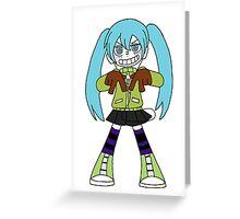 Miku Greeting Card