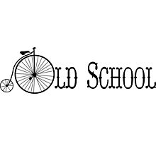 Old School Bicycle Photographic Print