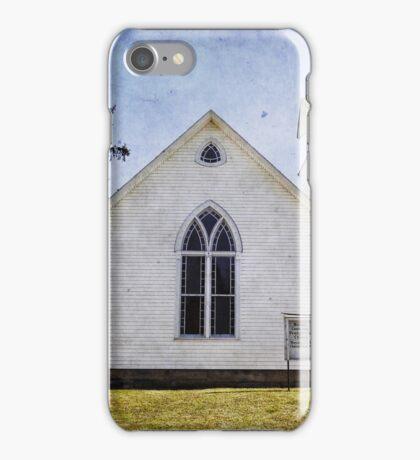 Old White Church iPhone Case/Skin
