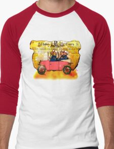 KeyStone Cops Men's Baseball ¾ T-Shirt