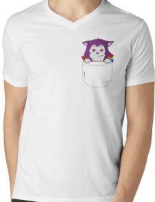 Atsushi Murasakibara Puppy Mens V-Neck T-Shirt