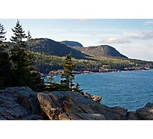 Cadillac Mountain - Acadia National Park Photographic Print